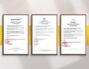 CBM vinh dự nhận Giấy Chứng Nhận hoàn thành từ các Chủ Đầu Tư
